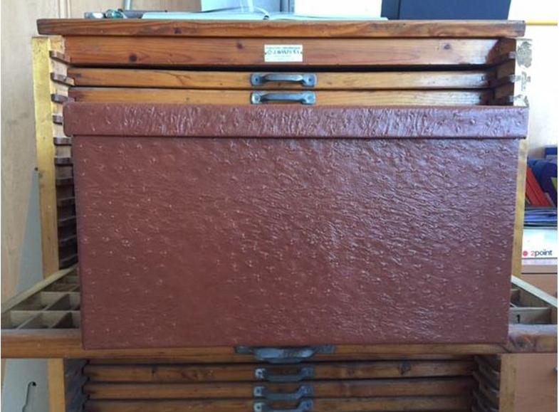 Caja para armario
